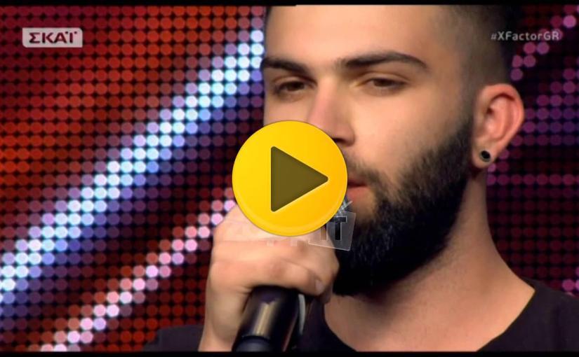 X Factor – Auditions: Ανδρέας Λέοντας – Τα σχοινιά σου – ViralVideos