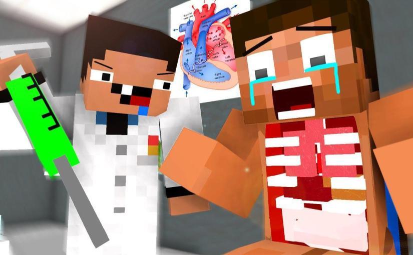 Dr. Noob Life – Operation 1 – Craftronix Minecraft Animation