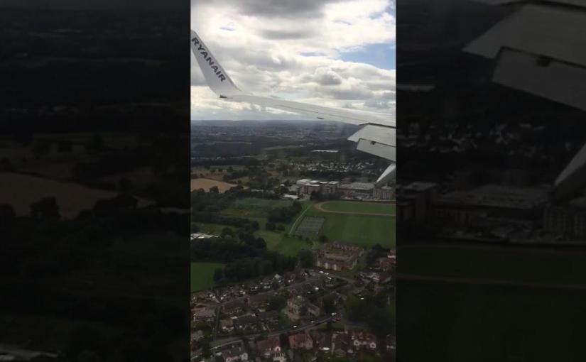 Ryanair Extreme Heavy Landing