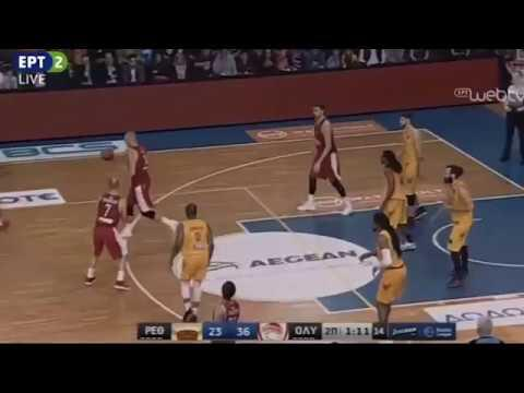 Rethimno-Olympiacos 66-86: Bobby Brown 14 pts
