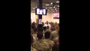 Billionaire Buys Dinner For 400 US Soldiers Traveling At Ireland Airport