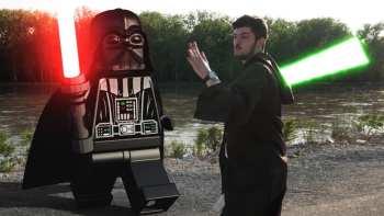 Real Life Lego Star Wars Battle