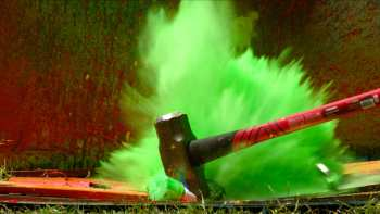 Exploding Spray Paint In Slow Motion