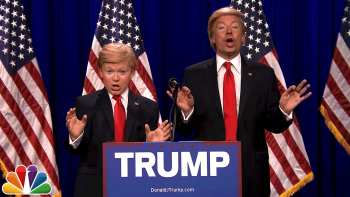 Jimmy Fallon And 8th Grader Impersonate Donald Trump And Little Donald
