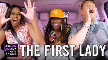 First Lady Michelle Obama Carpools With James Corden