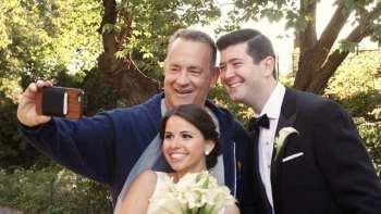 Tom Hanks Crashes Wedding Photo Shoot