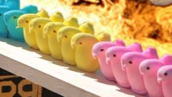 50 Cal Shoots Peeps And Cadbury Easter Eggs In Slow Motion