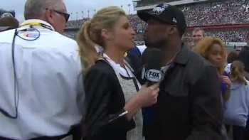 50 Cent Awkwardly Kisses Erin Andrews