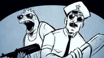 AXE COP The Beginning Animated Series