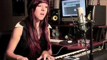 Christina Grimmie Covers Titanium On Piano