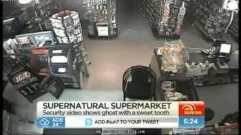 Ghost In Australian Supermarket