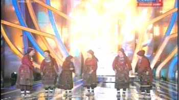 Russian Grandmother Singing Group On EuroVision Talent Show