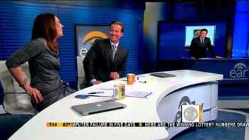 Newsman Lets Slip Surprise Birthday Party For Co-Anchor On National TV