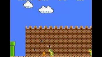 Super Mario Bros Lowest Possible Score