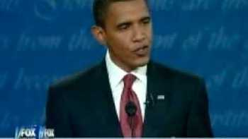 Senator Obama At 08 Pres Debate Says He Would Go Into Pakistan For Osama