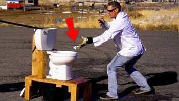 Don't Flush Sodium Down The Toilet