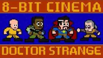 Doctor Strange Redone In 8-Bit Graphics
