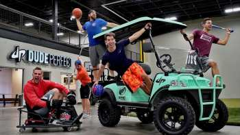 Dude Perfect Show Us Their Epic New Office