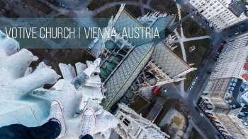 Insane Freeclimb in Vienna