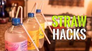 Awesome And Useful Straw Hacks