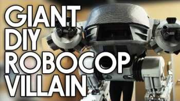 Epic DIY Robocop ED-209 Costume