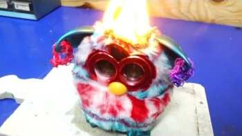 Red Hot Nickel Ball vs. Furby
