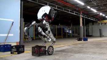 Amazing Demonstration Of Boston Dynamics Robot Handle