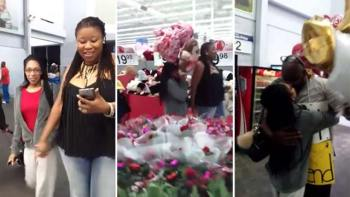 Friend Surprises Girl And Asks Her To Be His Girlfriend At Walmart