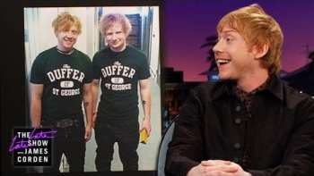 Rupert Grint Gets Mistaken For Ed Sheeran All The Time