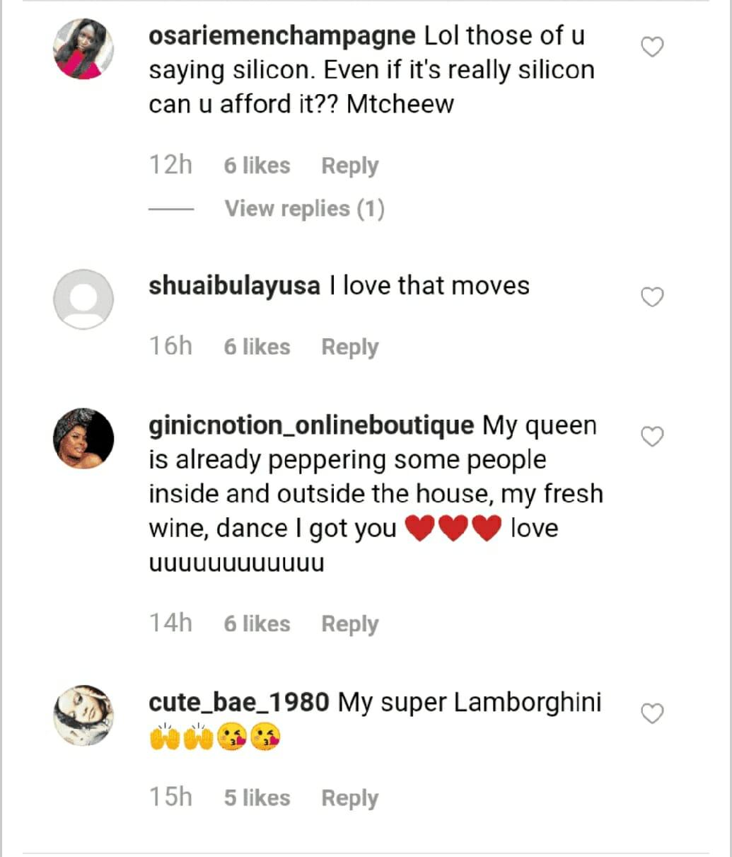 Fans reaction to mercy twerk for ike