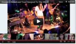 Google+ Hangouts On Air