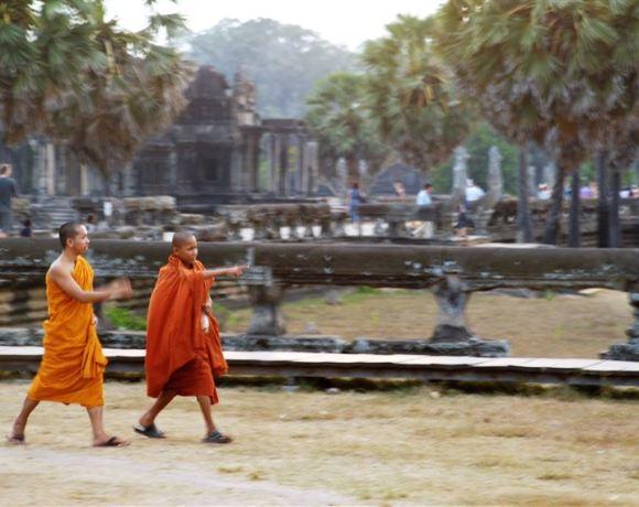 Tayland'dan Kamboçya'ya…