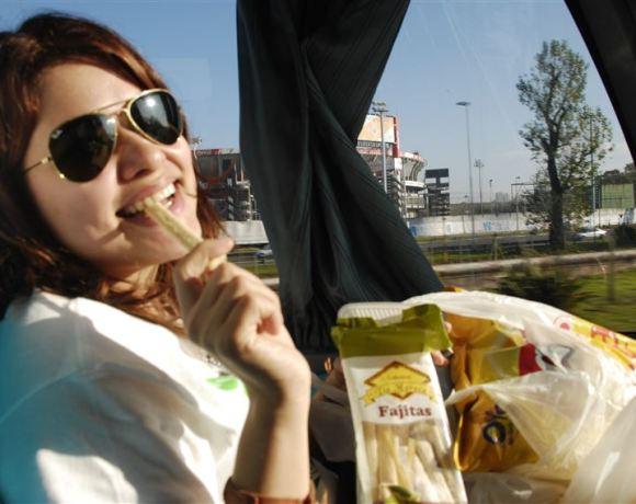 Arjantin'de Otobüs
