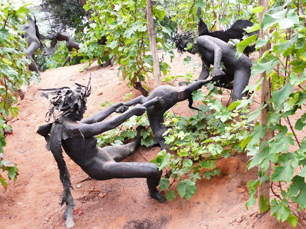 Garden Art & Craft Ideas Virdigris Gardening