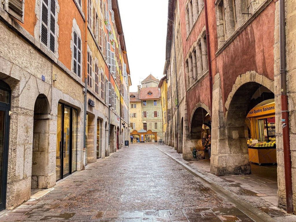 The old town of Annecy