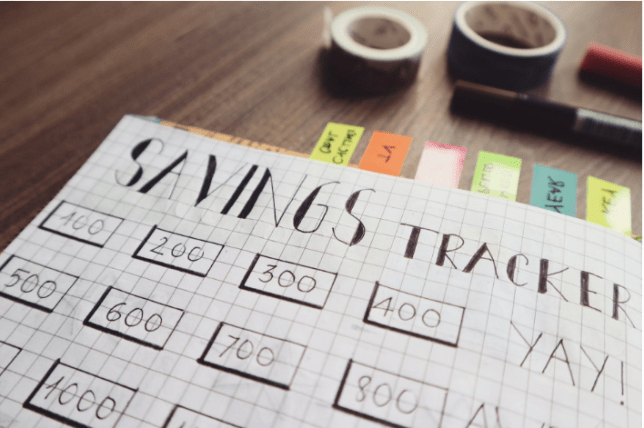 savings tracker