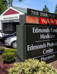 Exterior picture of virginia mason edmonds family medicine building also wa rh virginiamason
