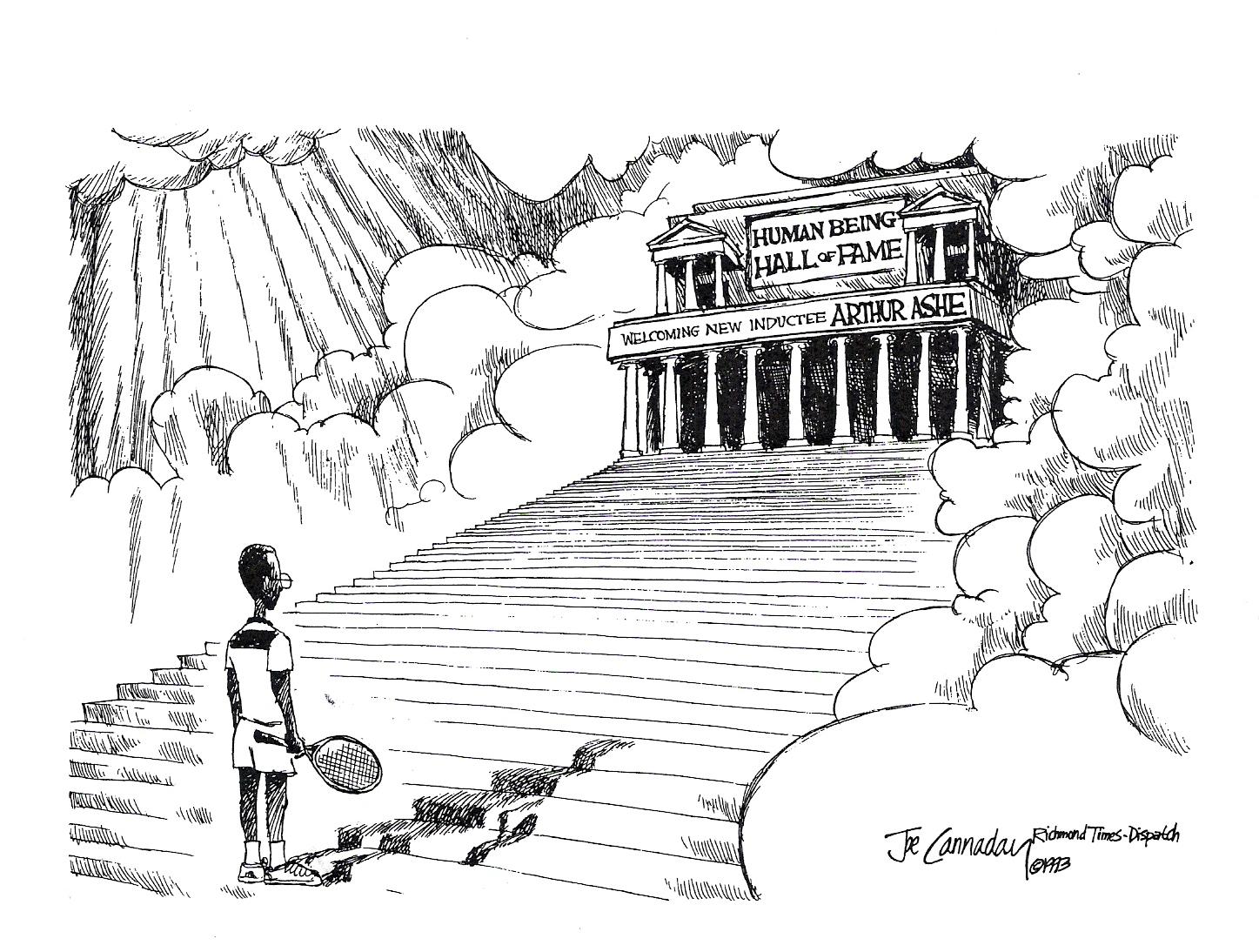 Education from LVA: Arthur Ashe