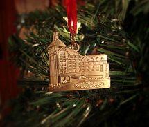 Roanoke Virginia Christmas Ornaments
