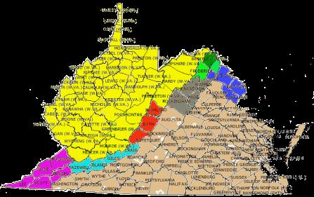 Image result for VA-WV border