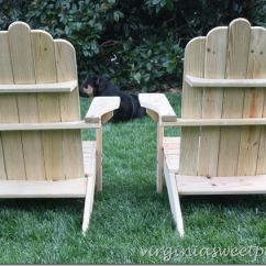 Ll Bean Adirondack Chairs Large Living Room Chair Covers L Knockoff Sweet Pea Diy Backs By Virginiasweetpea Com