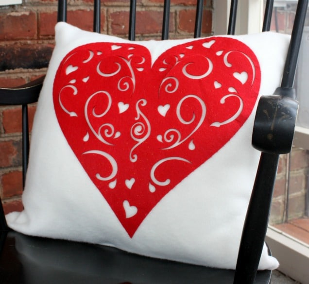 Dollar Store Inspired Valentines Day Pillows Sweet Pea