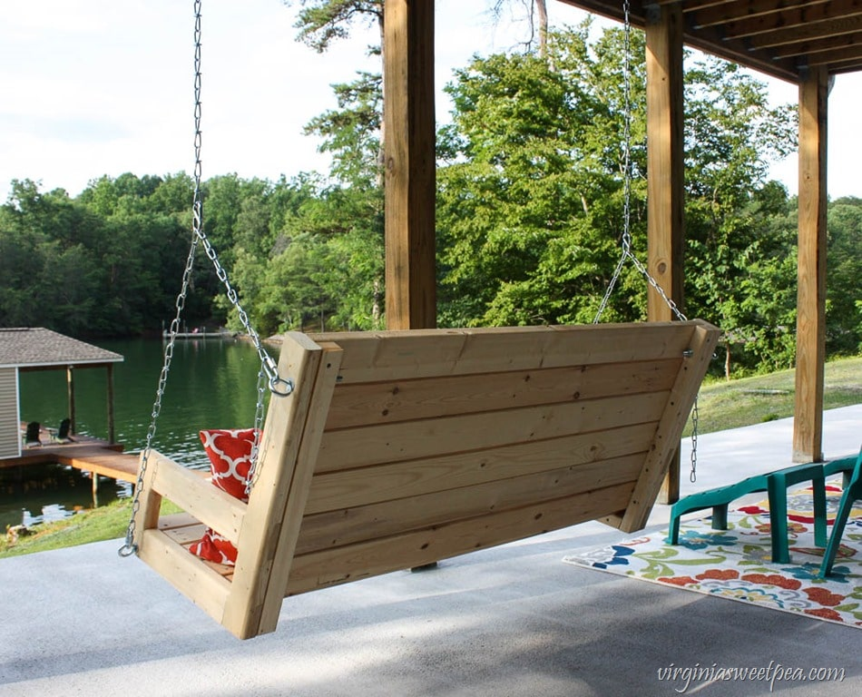 Diy 2x4 Porch Swing Sweet Pea
