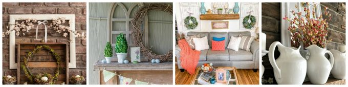 Spring Ideas Tour - Mantels