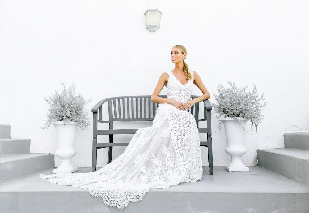 Vestido de novia Virginia Vald