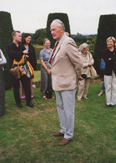 Nigel Nicolson, Long Barn, Kent, Sep 2001