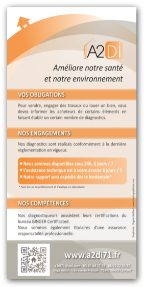 Flyer - Agence de diagnostics immobiliers