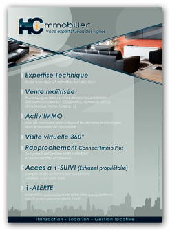 Flyer - Agence immobilière