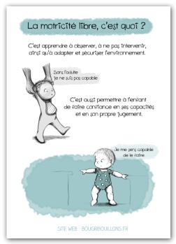 Affiche petite enfance - Motricité libre 3