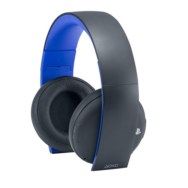 Sony Stereo Black Gaming Headphones Ps4 Headsets Amp Accessories PS4 Gaming Virgin Megastore